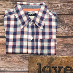 OshKosh B'gosh Plaid Woven Shirt -Boys 7X